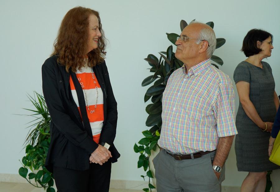 Prof. Israel Yuval and Prof. Ilana Pardes