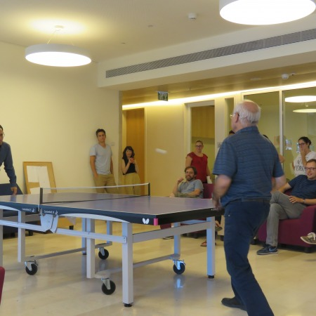 Prof. Yigal Bronner and Prof. Israel Yuval